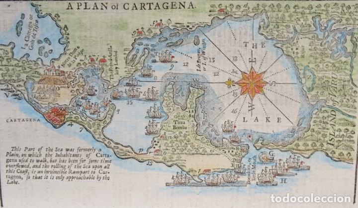 Colombia Cartagena De Indias Mapa Por S Urba Sold Through
