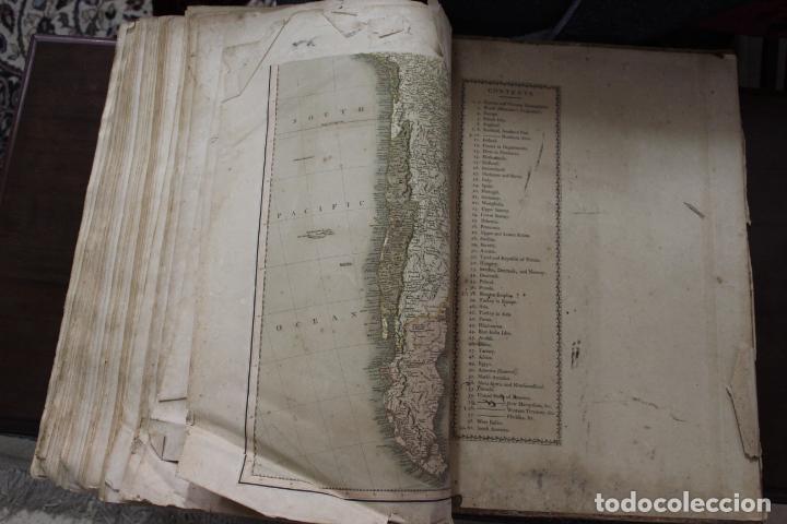 Arte: CARY´S NEW UNIVERSAL ATLAS, JOHN CARY 1811. MAPAS JOHN CARY. 53 MAPAS. UNA AUTENTICA JOYA - Foto 2 - 158087346
