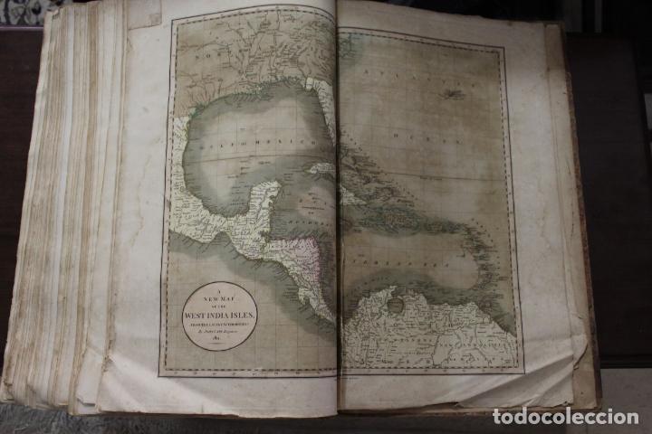 Arte: CARY´S NEW UNIVERSAL ATLAS, JOHN CARY 1811. MAPAS JOHN CARY. 53 MAPAS. UNA AUTENTICA JOYA - Foto 3 - 158087346