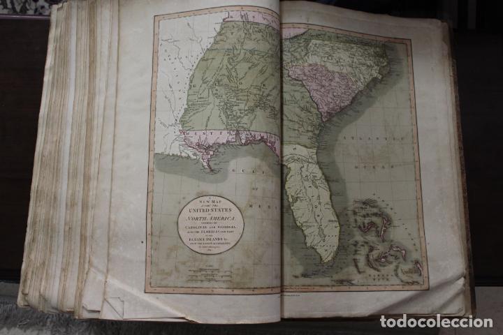 Arte: CARY´S NEW UNIVERSAL ATLAS, JOHN CARY 1811. MAPAS JOHN CARY. 53 MAPAS. UNA AUTENTICA JOYA - Foto 4 - 158087346