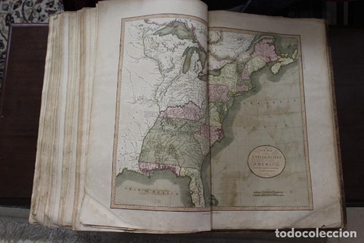 Arte: CARY´S NEW UNIVERSAL ATLAS, JOHN CARY 1811. MAPAS JOHN CARY. 53 MAPAS. UNA AUTENTICA JOYA - Foto 5 - 158087346