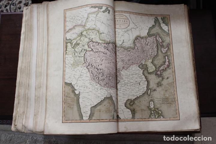Arte: CARY´S NEW UNIVERSAL ATLAS, JOHN CARY 1811. MAPAS JOHN CARY. 53 MAPAS. UNA AUTENTICA JOYA - Foto 7 - 158087346