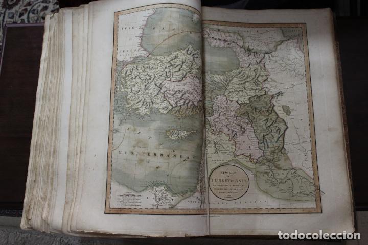 Arte: CARY´S NEW UNIVERSAL ATLAS, JOHN CARY 1811. MAPAS JOHN CARY. 53 MAPAS. UNA AUTENTICA JOYA - Foto 8 - 158087346