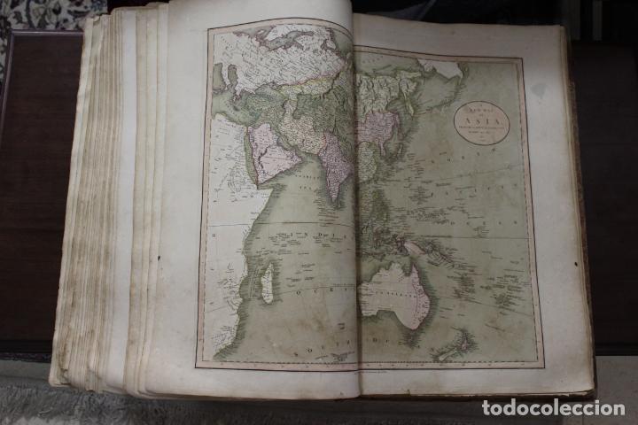 Arte: CARY´S NEW UNIVERSAL ATLAS, JOHN CARY 1811. MAPAS JOHN CARY. 53 MAPAS. UNA AUTENTICA JOYA - Foto 9 - 158087346