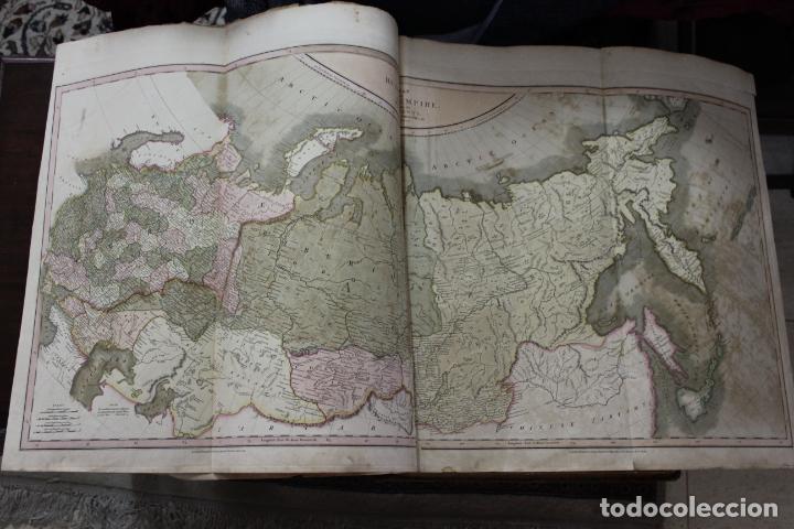 Arte: CARY´S NEW UNIVERSAL ATLAS, JOHN CARY 1811. MAPAS JOHN CARY. 53 MAPAS. UNA AUTENTICA JOYA - Foto 10 - 158087346
