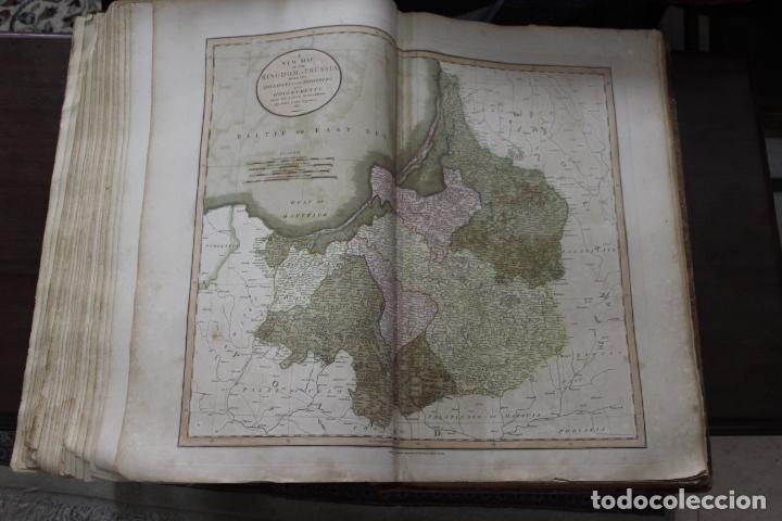 Arte: CARY´S NEW UNIVERSAL ATLAS, JOHN CARY 1811. MAPAS JOHN CARY. 53 MAPAS. UNA AUTENTICA JOYA - Foto 11 - 158087346