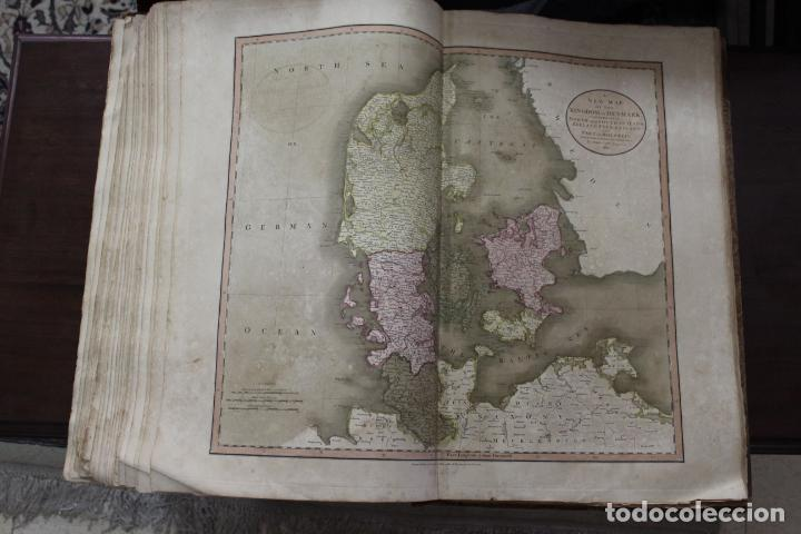 Arte: CARY´S NEW UNIVERSAL ATLAS, JOHN CARY 1811. MAPAS JOHN CARY. 53 MAPAS. UNA AUTENTICA JOYA - Foto 12 - 158087346