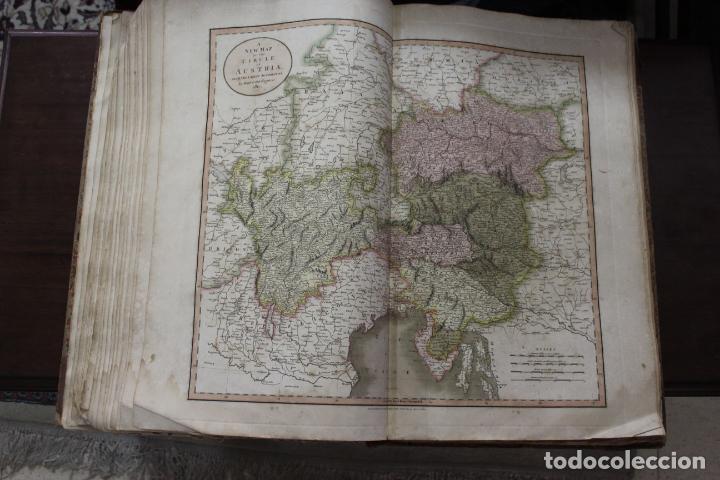 Arte: CARY´S NEW UNIVERSAL ATLAS, JOHN CARY 1811. MAPAS JOHN CARY. 53 MAPAS. UNA AUTENTICA JOYA - Foto 16 - 158087346