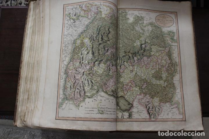 Arte: CARY´S NEW UNIVERSAL ATLAS, JOHN CARY 1811. MAPAS JOHN CARY. 53 MAPAS. UNA AUTENTICA JOYA - Foto 18 - 158087346
