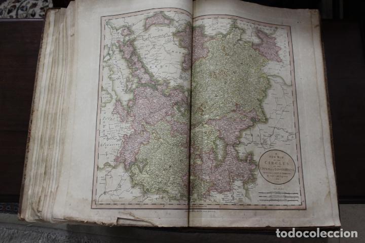 Arte: CARY´S NEW UNIVERSAL ATLAS, JOHN CARY 1811. MAPAS JOHN CARY. 53 MAPAS. UNA AUTENTICA JOYA - Foto 19 - 158087346