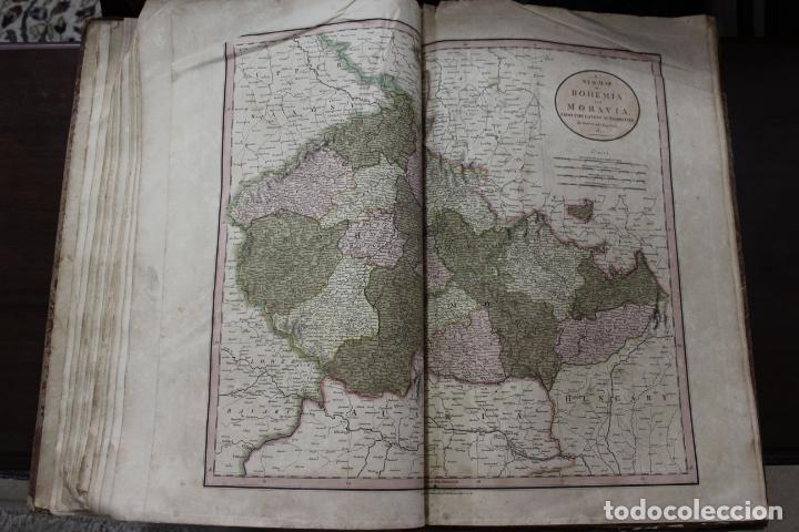 Arte: CARY´S NEW UNIVERSAL ATLAS, JOHN CARY 1811. MAPAS JOHN CARY. 53 MAPAS. UNA AUTENTICA JOYA - Foto 21 - 158087346