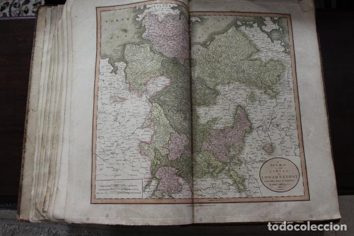 Arte: CARY´S NEW UNIVERSAL ATLAS, JOHN CARY 1811. MAPAS JOHN CARY. 53 MAPAS. UNA AUTENTICA JOYA - Foto 22 - 158087346
