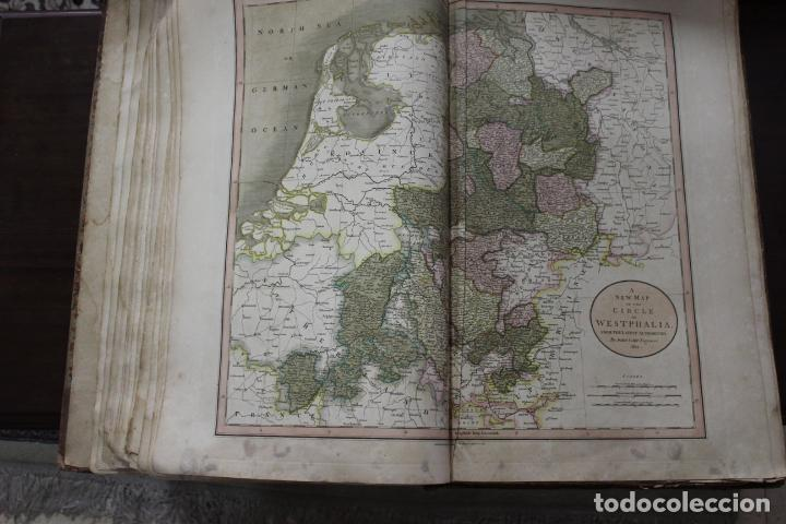 Arte: CARY´S NEW UNIVERSAL ATLAS, JOHN CARY 1811. MAPAS JOHN CARY. 53 MAPAS. UNA AUTENTICA JOYA - Foto 24 - 158087346