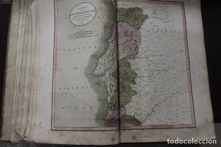 Arte: CARY´S NEW UNIVERSAL ATLAS, JOHN CARY 1811. MAPAS JOHN CARY. 53 MAPAS. UNA AUTENTICA JOYA - Foto 26 - 158087346