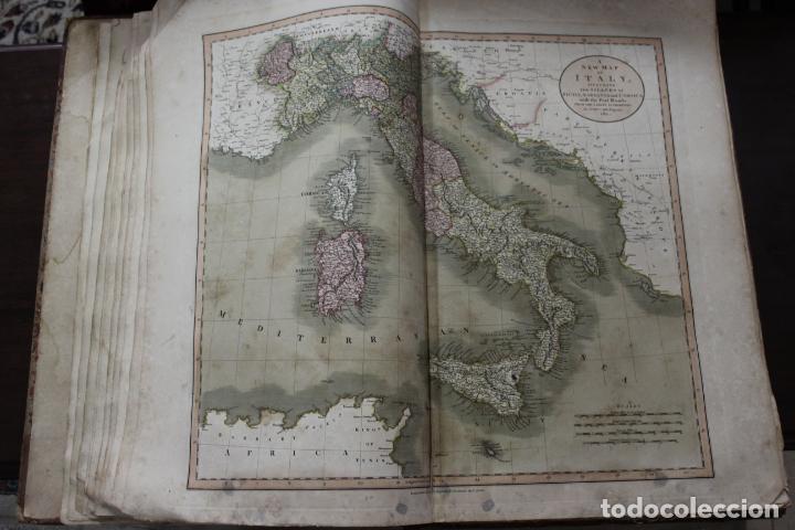 Arte: CARY´S NEW UNIVERSAL ATLAS, JOHN CARY 1811. MAPAS JOHN CARY. 53 MAPAS. UNA AUTENTICA JOYA - Foto 28 - 158087346