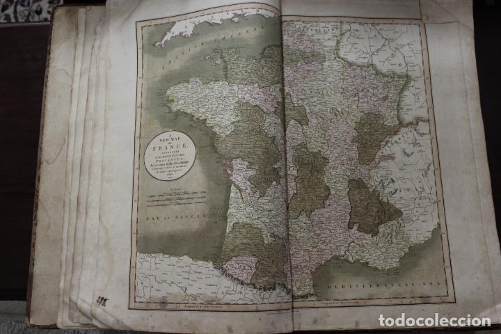 Arte: CARY´S NEW UNIVERSAL ATLAS, JOHN CARY 1811. MAPAS JOHN CARY. 53 MAPAS. UNA AUTENTICA JOYA - Foto 33 - 158087346