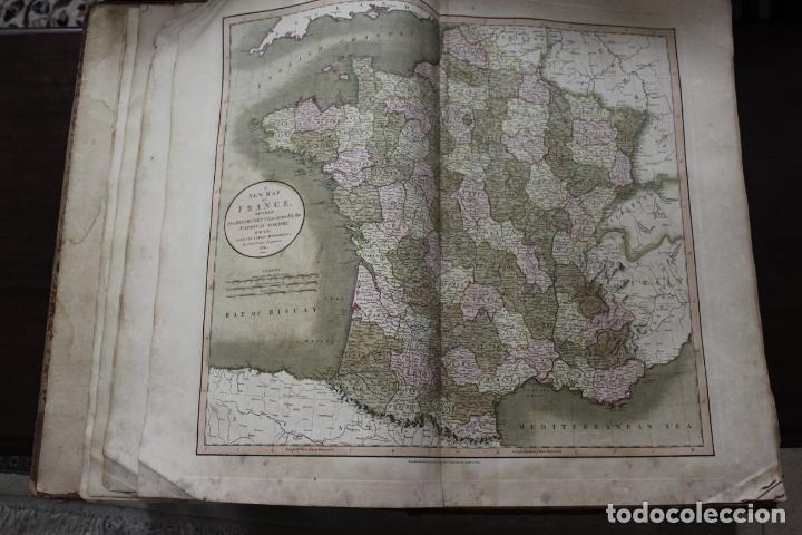 Arte: CARY´S NEW UNIVERSAL ATLAS, JOHN CARY 1811. MAPAS JOHN CARY. 53 MAPAS. UNA AUTENTICA JOYA - Foto 34 - 158087346