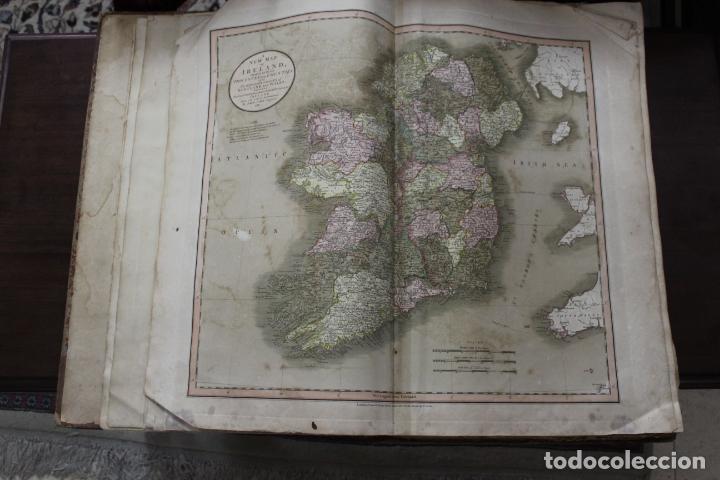 Arte: CARY´S NEW UNIVERSAL ATLAS, JOHN CARY 1811. MAPAS JOHN CARY. 53 MAPAS. UNA AUTENTICA JOYA - Foto 35 - 158087346