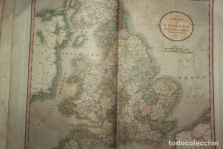Arte: CARY´S NEW UNIVERSAL ATLAS, JOHN CARY 1811. MAPAS JOHN CARY. 53 MAPAS. UNA AUTENTICA JOYA - Foto 38 - 158087346