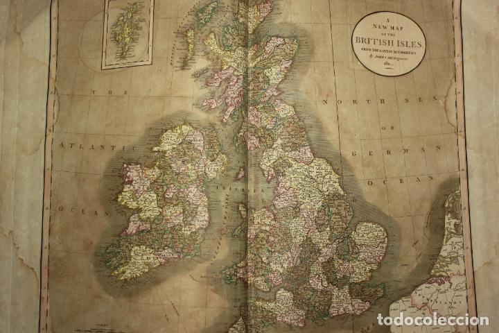 Arte: CARY´S NEW UNIVERSAL ATLAS, JOHN CARY 1811. MAPAS JOHN CARY. 53 MAPAS. UNA AUTENTICA JOYA - Foto 39 - 158087346