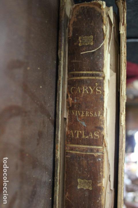 Arte: CARY´S NEW UNIVERSAL ATLAS, JOHN CARY 1811. MAPAS JOHN CARY. 53 MAPAS. UNA AUTENTICA JOYA - Foto 40 - 158087346