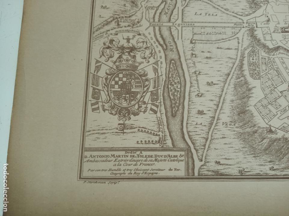 PLANO DE LA VILLA DE MADRID. P. STARCKMAN SCRIP.1706. 40 X 28. BIEN CONSERVADO. (Arte - Cartografía Antigua (hasta S. XIX))