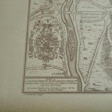 Arte: PLANO DE LA VILLA DE MADRID. P. STARCKMAN SCRIP.1706. 40 X 28. BIEN CONSERVADO.. Lote 158122766