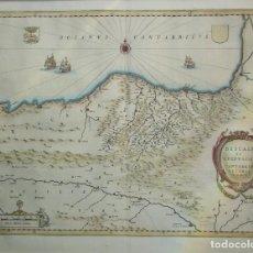 Arte: MAPA DEL PAÍS VASCO DEL SIGLO XVII. Lote 158225286