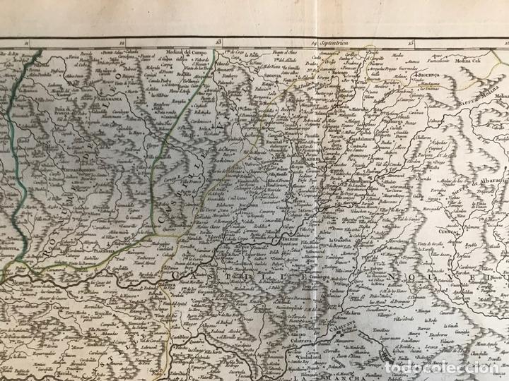 Arte: Gran mapa del Sudeste de España (Andalucía, Murcia, Castilla,...), 1751. Robert de Vaugondy - Foto 5 - 158834412