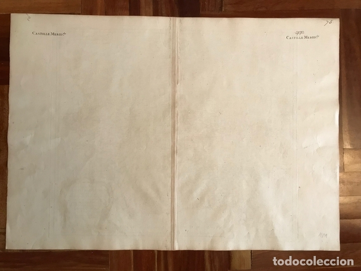 Arte: Gran mapa del Sudeste de España (Andalucía, Murcia, Castilla,...), 1751. Robert de Vaugondy - Foto 13 - 158834412