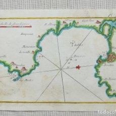 Arte: MAPA ROSES- ROUX - AÑO 1764. Lote 158922272
