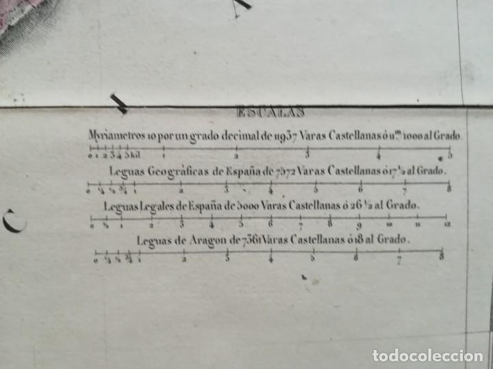 Arte: MAPA DE EXTREMADURA - DUFOUR - AÑO 1836 - Foto 11 - 159136942