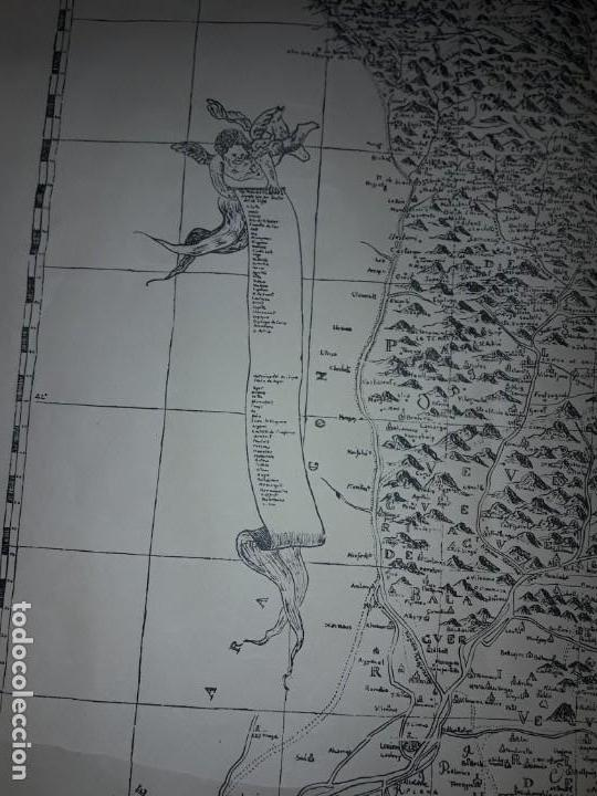 Arte: Mapa grabado Nueva Descripción Geographica del Principado de Cataluña 1720 - Foto 7 - 160163146