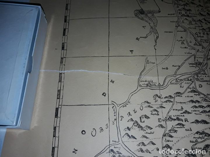 Arte: Mapa grabado Nueva Descripción Geographica del Principado de Cataluña 1720 - Foto 8 - 160163146