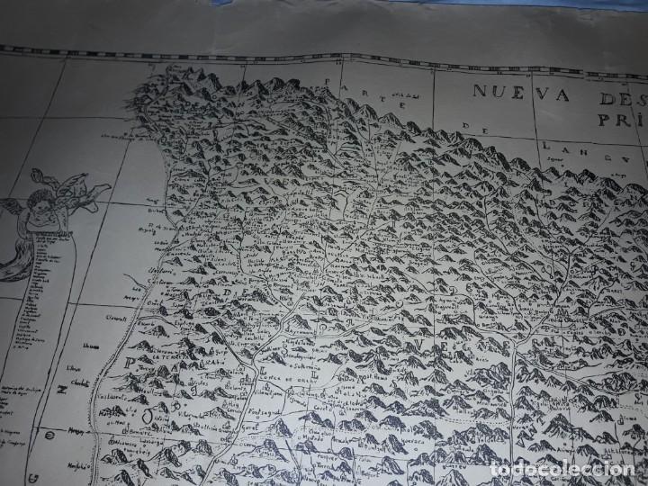 Arte: Mapa grabado Nueva Descripción Geographica del Principado de Cataluña 1720 - Foto 12 - 160163146