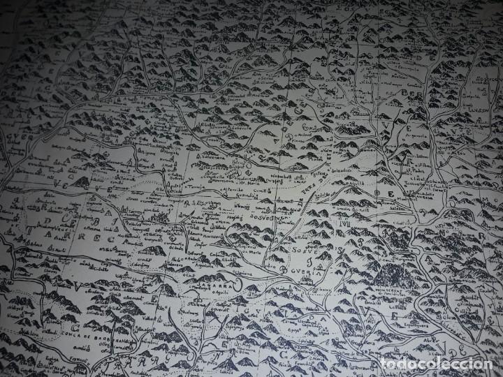 Arte: Mapa grabado Nueva Descripción Geographica del Principado de Cataluña 1720 - Foto 13 - 160163146