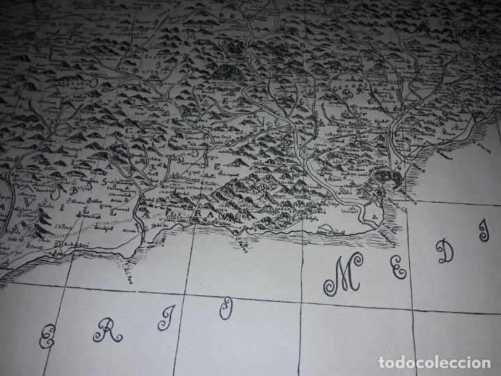 Arte: Mapa grabado Nueva Descripción Geographica del Principado de Cataluña 1720 - Foto 14 - 160163146