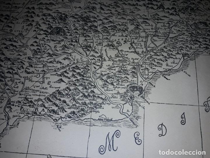 Arte: Mapa grabado Nueva Descripción Geographica del Principado de Cataluña 1720 - Foto 17 - 160163146