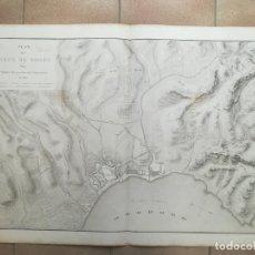 Arte: MAPA DE ROSES - AÑO 1808 - BELMAS - GRAN FORMATO. Lote 160658530