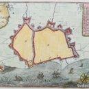 Arte: MAPA DE BARCELONA - BEAULIEU - AÑO 1707. Lote 162093006