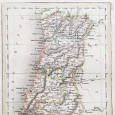 Arte: 1837 - ORIGINAL - PORTUGAL - HILDBURGHAUSEN & NEW YORK - TAMAÑO HOJA: 19 X 12 CM. Lote 165705954