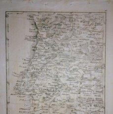 Arte: MAPA ANTIGUO DE PORTUGAL AÑO 1840 CON CERTIF. AUTENT. MAPAS ANTIGUOS PORTUGAL. Lote 166662326