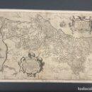 Arte: MAPA ORIGINAL AÑO 1560. PORTUGALIAE. PORTUGAL. . Lote 12485012