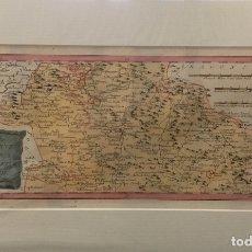 Arte: MAPA DE CUENCA PARTE CENTRAL DER PROVINZ CUENCA MITTLERER THEIL. C. 1790. FRANZ JOHANN JOSEPH REILLY. Lote 166773310