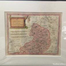 Arte: MAPA DE CUENCA PARTE NORTE. DER PROVINZ CUENCA NOERDLICHER THEIL. C.1790. FRANZ JOHANN JOSEPH REILLY. Lote 166773654