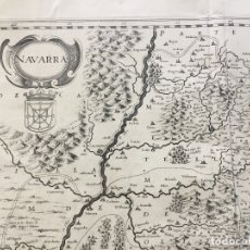 Arte: NAVARRA. - JANSSONIUS, JOANNES. C. 1650. Lote 123203306