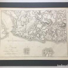 Arte: CARTE DE LA TROADE. - LECHEVALIER, JEAN B. Y CASSAS, LOUIS F. ADRIATICO, GRECIA, TURQUIA.. Lote 123207379