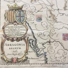 Arte: ARRAGONIA REGNUM. - [MAPA.] LABAN?A [LABANNA], IOANNES BAPTISTA Y BLAEU, W. J.. Lote 123268090