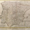 Arte: MAPA DE ESPAÑA. CARTE GENERALE DE L'ESPAGNE. FINALES DEL SIGLO XVIII. 43 X 55 CM. . Lote 166883640