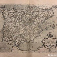Arte - Regni Hispaniae. Abraham Ortelius. S. XVI. - 166986460